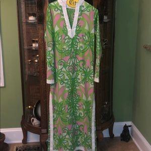 Lilly Pulitzer  vintage maxi dress